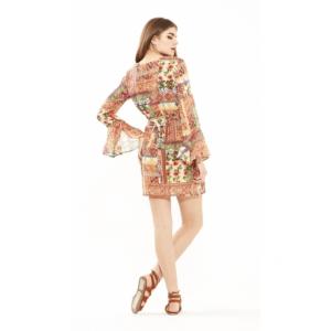 Abito corto fantasia S/M | Abbigliamento donna online