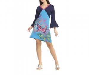 Abito corto manica lunga S/M | Shop online moda donna