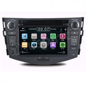 Autoradio 2 DIN navigatore per Toyota Rav4 2006 2007 2008 20092010 2011 2012 GPS DVD USB SD Bluetooth