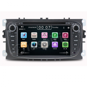 Autoradio 2 DIN navigatore per Ford Mondeo Ford Focus Ford S-Max Ford C-Max Ford Galaxy GPS DVD USB SD Bluetooth