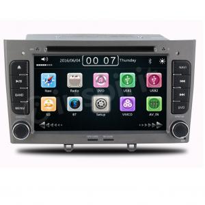 Autoradio 2 DIN navigatore per Peugeot 308 Peugeot 408 GPS DVD USB SD Bluetooth