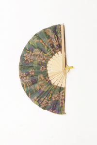 Ventaglio etnico Bambu' e Cotone | Accessori moda donna
