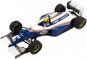 Williams Renault FW16 Brazilian Gp Ayrton Senna 1994 1/18