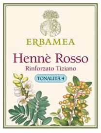 Hennè Erbamea Rosso Rinforzato Tiziano 100 gr