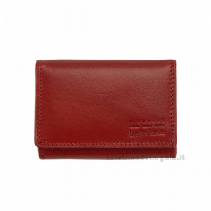 Portafoglio donna Rosso in pelle - Rina V - Pelletteria Fiorentina