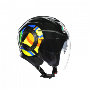 Casco AGV Orbyt SunMoon 46 Black