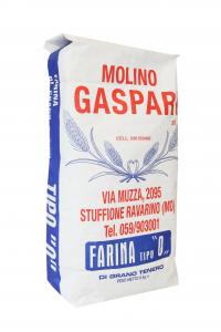 Farina artigianale tipo 0 di grano tenero italiano, Formato da 5 KG