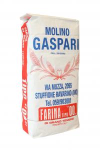Farina artigianale tipo 00 di grano tenero italiano, Formato da 5 KG