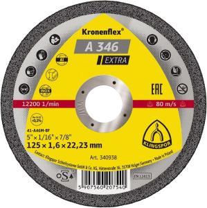 Disco da taglio A 346 Extra 125x1.6 mm