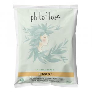 Henné Rosso N.1 100 gr - Phitofilos