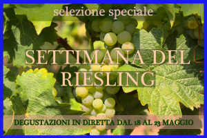 Settimana del Riesling - SOLD OUT!