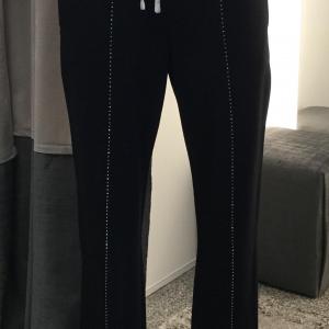 Pantalone nero/strass  donna Liu.jo Sport