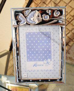Bimbo Cornice Pesciolino 13x18 Azzurra