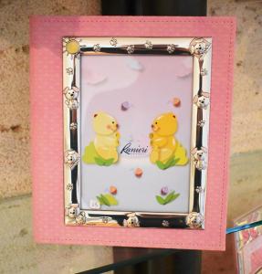 Bimbo Album Portafoto Cagnolino 30x25 Rosa