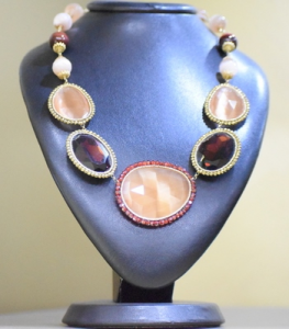 Sikè Jewels: girocollo in argento con pietre Swarovski