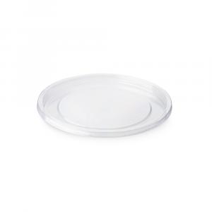 Coperchio piano per ciotole pot in PLA trasparente 240-500ml