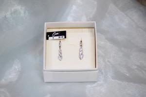 Osa gioielli pendenti in argento 925 e pietre Swarovski crystal
