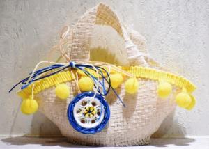 Coffa pon pon giallo (confetti vari gusti e tipologie)