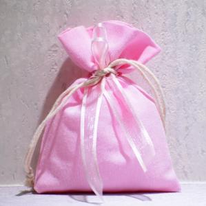 Sacchetto rosa (confetti vari gusti e tipologie)