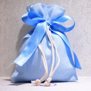 Sacchetto Celeste  (confetti vari gusti e tipologie)