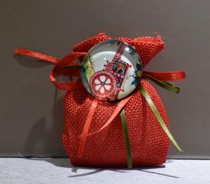 Busta Iuta piccola + magnete (confetti vari gusti e tipologie)
