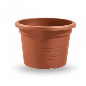 Vaso Cilindrico Diametro 70 cm Color Terracotta
