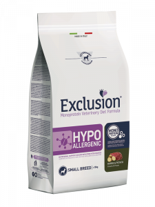 Exclusion Diet Hypoallergenic Small Breed Cavallo e Patate