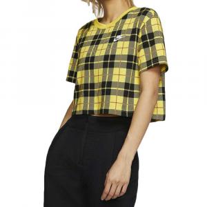 Nike Shirt Corta Tartan da Donna