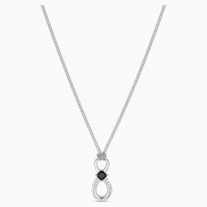 Swarovski Collana Infinity Nero 5528109