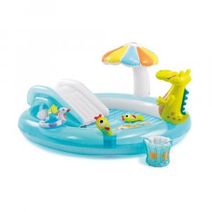 Piscina Play Center Alligatore spruzzo 57165/29