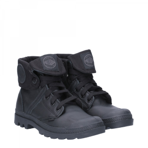 Palladium Lady Pallabrouse Baggy Black Leather