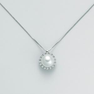 MILUNA-Collana in oro con perla