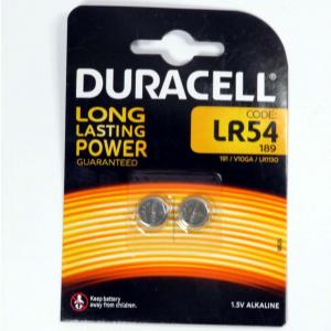 Pila a pastiglia Lr54 Duracell