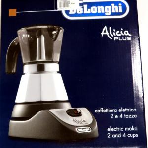 Caffettiera elettrica Alicia De Longhi 2 e 4 tazze