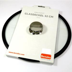 Coperchio in vetro bordo silicone cm32