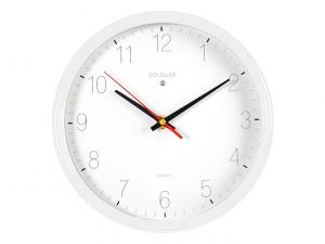 Orologio da parete bianco con scritte nere cm24