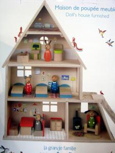 Gioco Casa con mobili in legno Moulin Roty