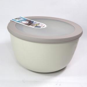 Ciotola con coperchio trasparente 3 litri bianca