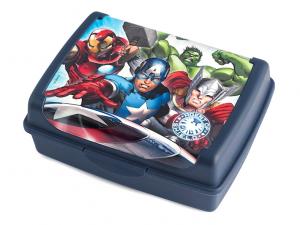 Scatola porta pranzo Avengers blu