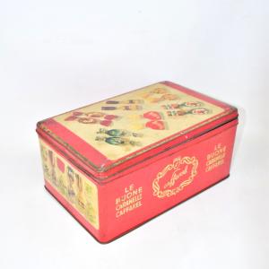 Scatola In Latta 29x12x19 Vintage Caramelle I