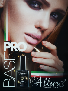 Allur Pro Base - Gel Uv Led Revolution 15ml - Disponibile in 6 Colorazioni
