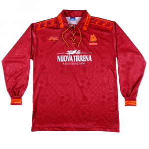 1994-95 Roma Maglia Home XL ( Top)