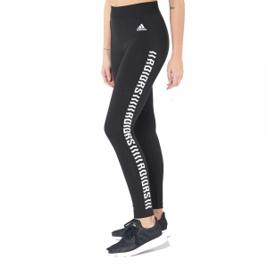 Adidas Leggings Logo Black da Donna