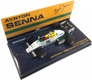 Williams Ford FW08C Ayrton Senna Donington Park Test 19th July 1983 1/43