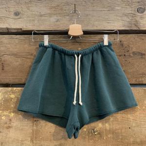 Pantaloncino American Vintage in Jersey Verde Pino