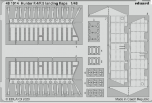 Hunter F.4/F.5 landing flaps
