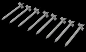 HVAR rockets