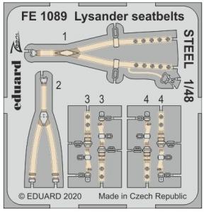 Lysander seatbelts STEEL