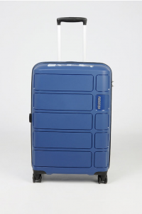 SUMMER SPLASH Trolley Cabina 55cm 4R Blu American Tourister
