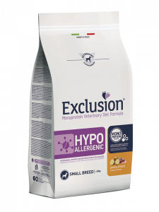 Exclusion Diet Hypoallergenic Small Breed Anatra e Patate